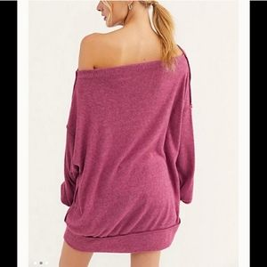 Free People Tops - Free People Main Squeeze Hacci Top Sweater size L